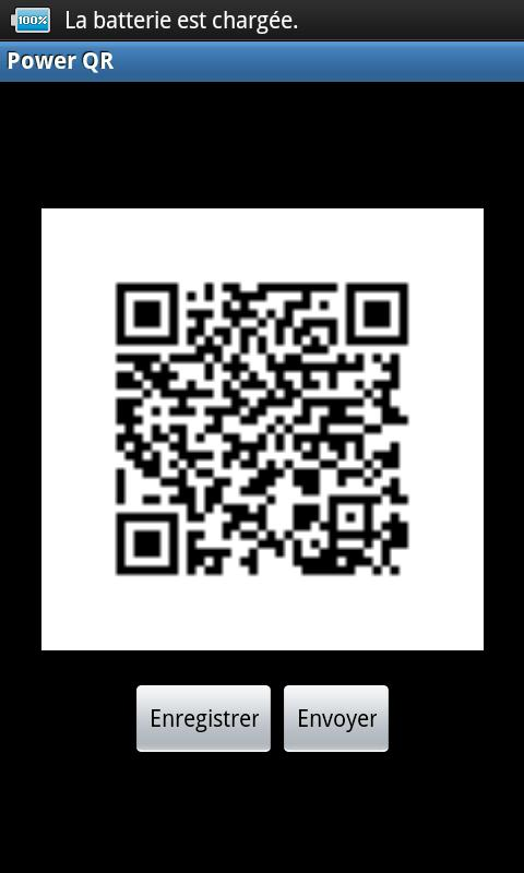 Power QR - screenshot
