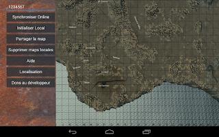 Screenshot of Rust Map