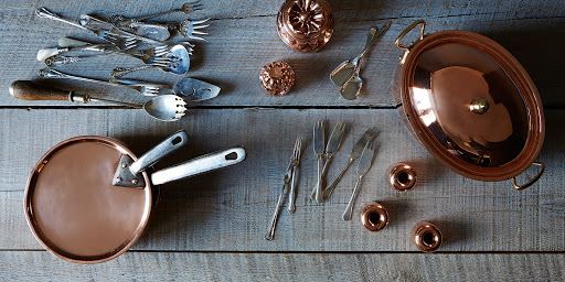Vintage Copper + Utensils