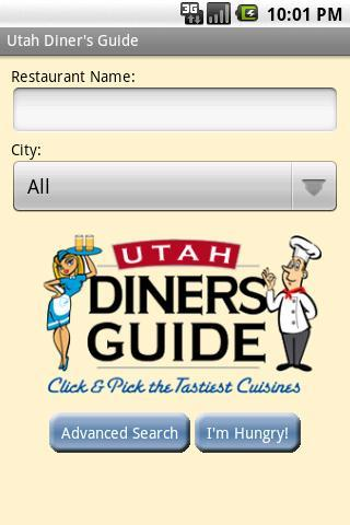I'm Hungry- Utah Diner's Guide - screenshot