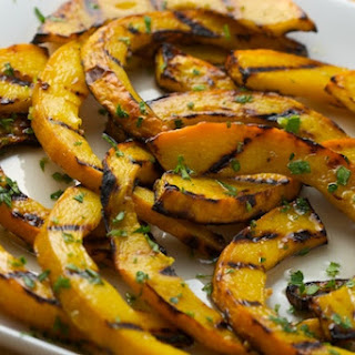 Sweet and Sour Grilled Pumpkin.