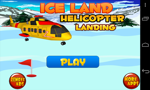 Iceland Helicopter Landing
