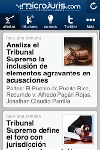 Microjuris al Día Puerto Rico - screenshot thumbnail