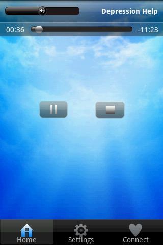 Depression Help Brainwave - screenshot