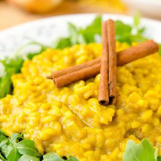 Pumpkin Curry Risotto.