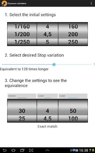 免費下載攝影APP|Exposure calculator Free app開箱文|APP開箱王