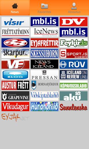 Icelandic Newspapers.