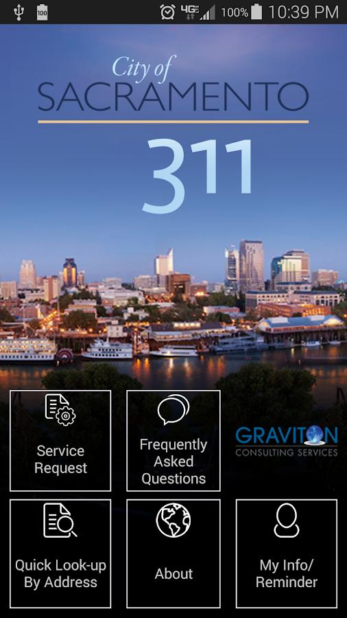 Sacramento 311- screenshot