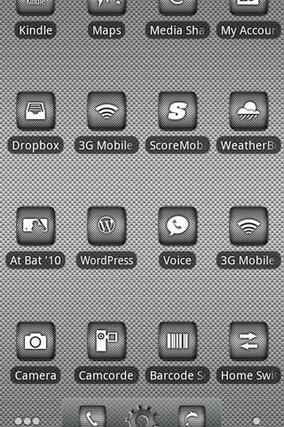 ADW Theme | DroidArmor LITE- screenshot