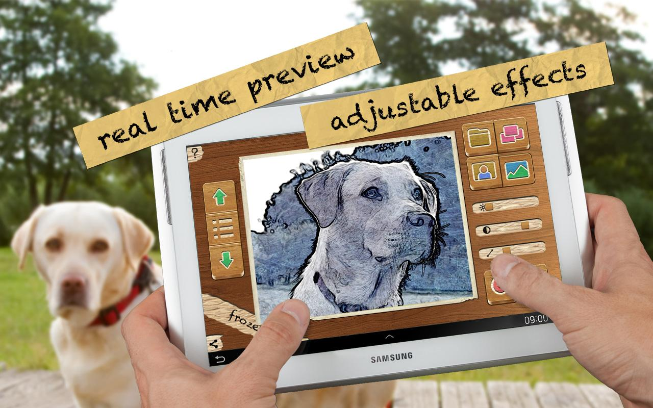 Pencil Camera HD Premium- screenshot