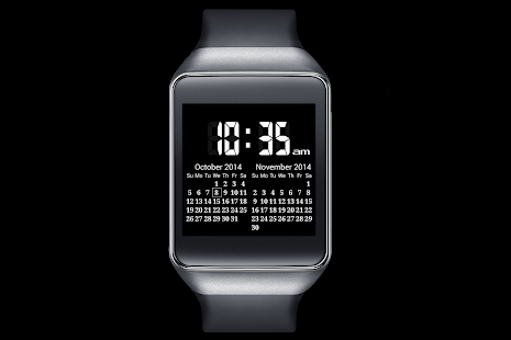 A09 WatchFace for Android Wear