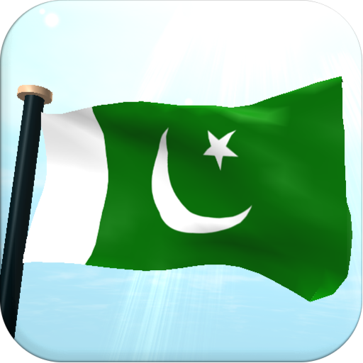 Pakistan Flag 3D Free