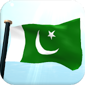Pakistan Flag 3D Free