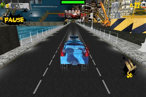Speed Night Battle Tank Racing