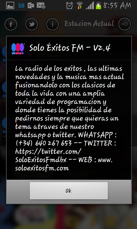 Solo Exitos FM- screenshot