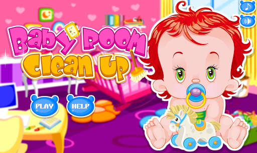 宝宝的房间清理