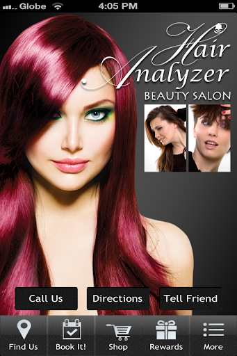 Hair Analyzer Beauty Salon