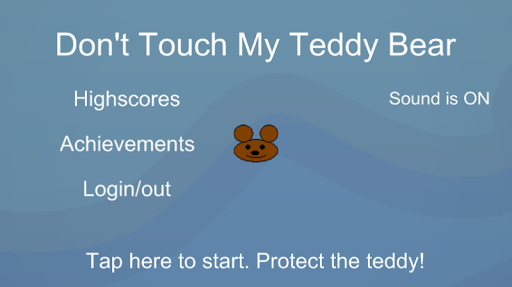 Don't Touch My Teddy Bear Plus