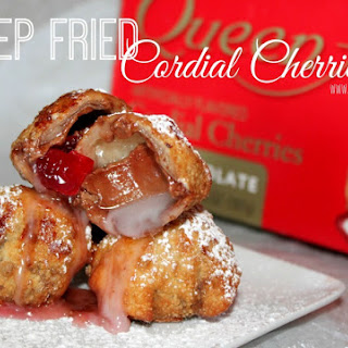~Deep Fried Cordial Cherries!