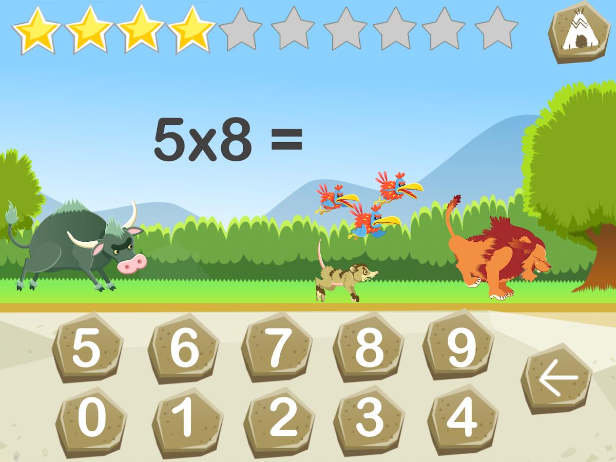 tables de multiplication lite applications android sur play