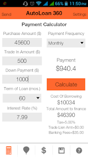 Auto Loan Calculator 360- screenshot thumbnail