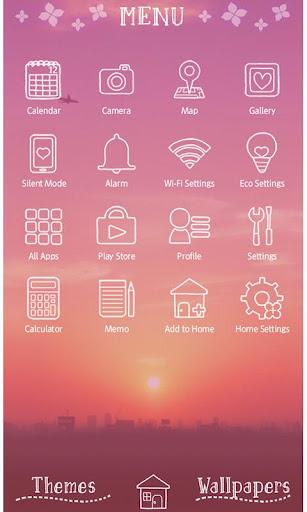 Sky Wallpaper Purple Sunrise 1.0.1 Windows u7528 3