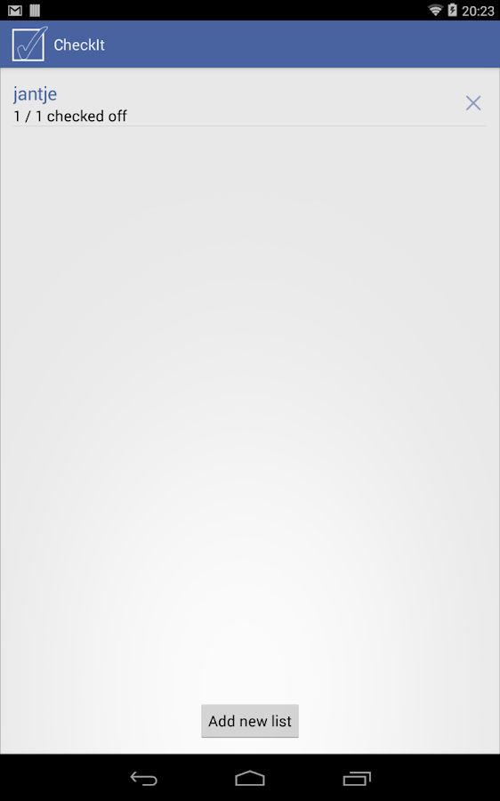 CheckIt - screenshot