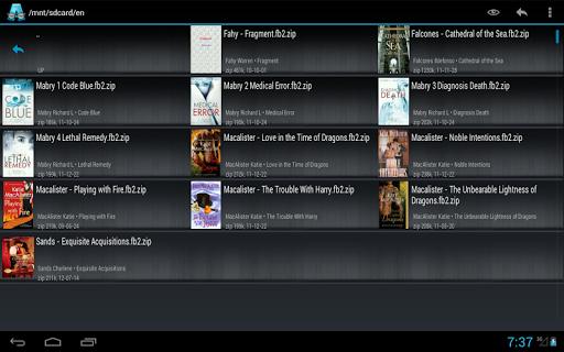 AlReader -any text book reader 1.911805270 screenshots 13