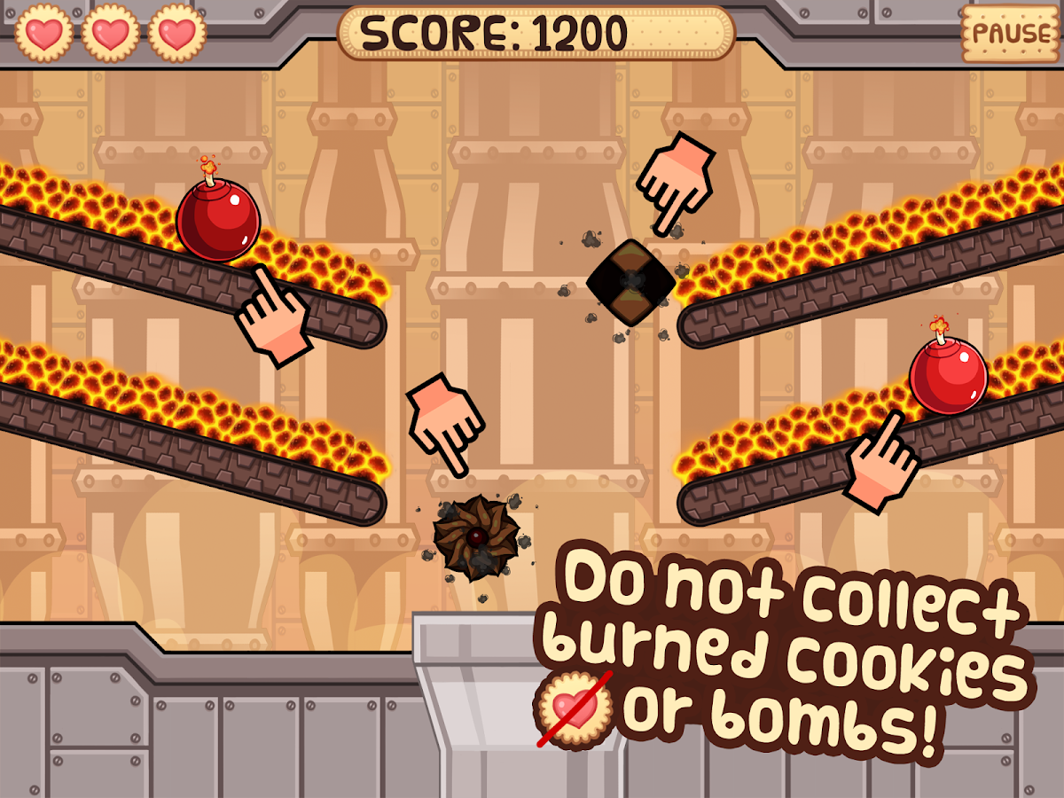 Cookies Factory - Free Game - screenshot