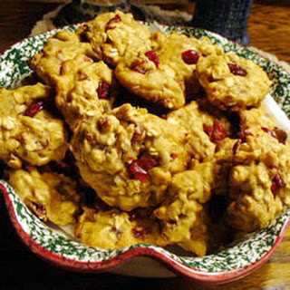 Cranberry Orange Oat Cookies