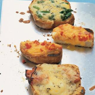 Egg and Toast Ideas.