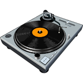 Virtual DJ Turntable