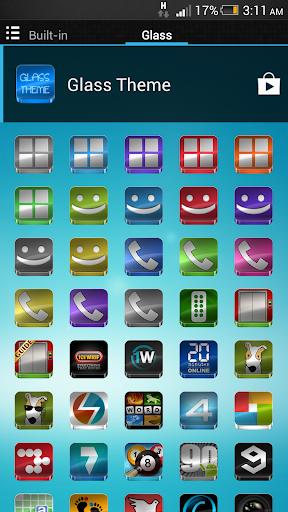 Glass - Icon Pack  screenshots 6