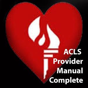 ACLS Provider Manual 醫療 App LOGO-硬是要APP