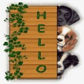 Hello By Three Tenderly Dogs logo