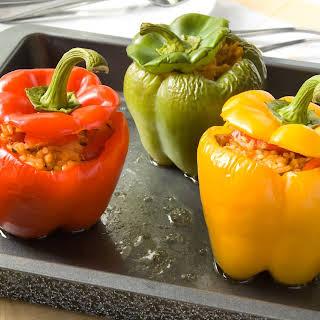 Vegetarian Stuffed Peppers.