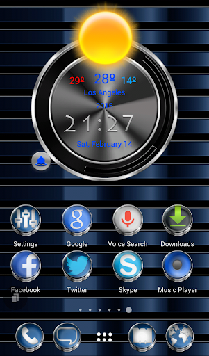 TSF Shell HD Theme Zaphire 3D