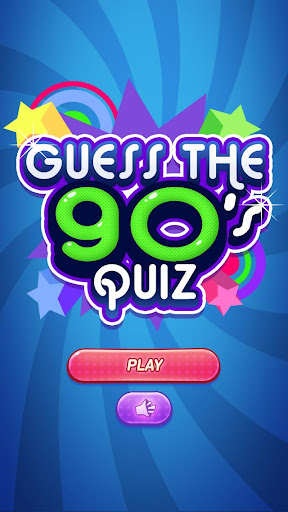 Guess The 90's Quiz