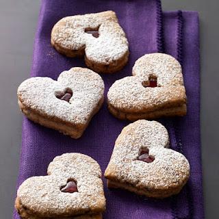 Tate's Linzer Heart Cookies