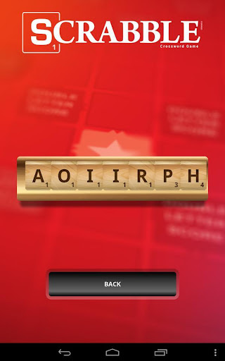SCRABBLE Word Companion