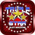 Free Triple Star Slot Machine icon