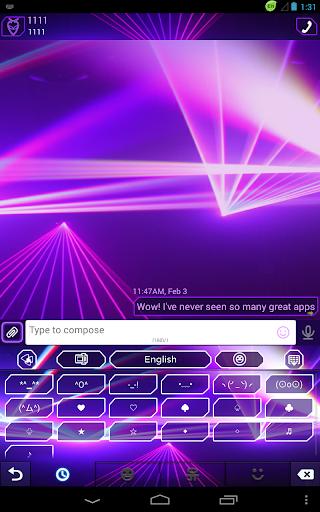 免費下載娛樂APP|GOのキーボードの紫レーザー app開箱文|APP開箱王