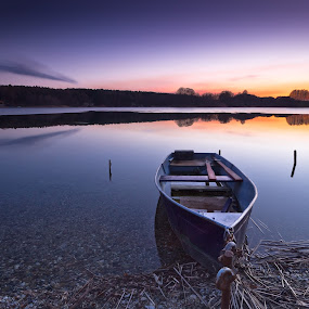 Silence by Markus Busch - Landscapes Waterscapes ( 8, haida 1, lzb, pinnower see )