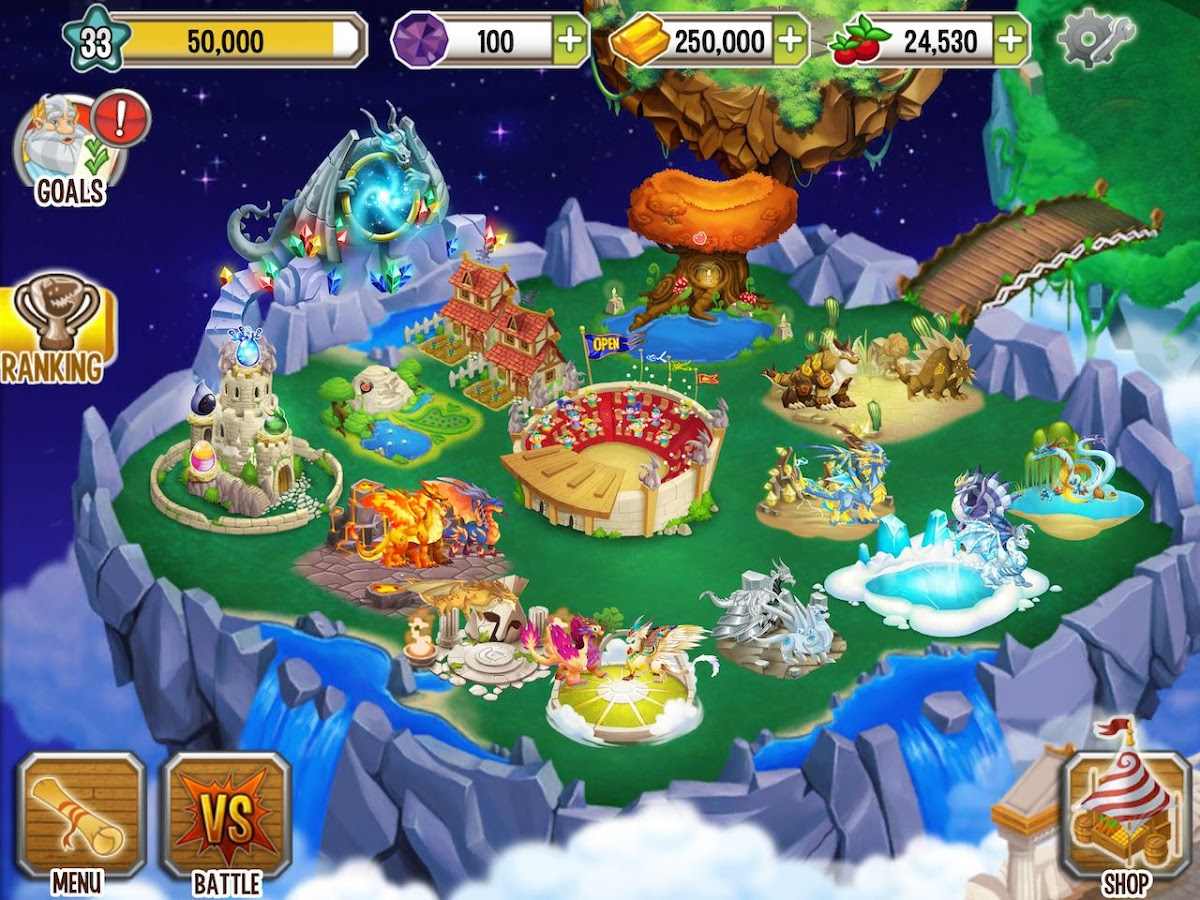 Dragon City - screenshot