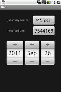 Julian day number- screenshot thumbnail