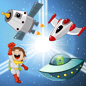 Space Puzzles for Toddlers !