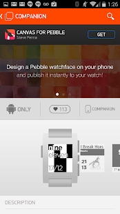 Pebble- screenshot thumbnail
