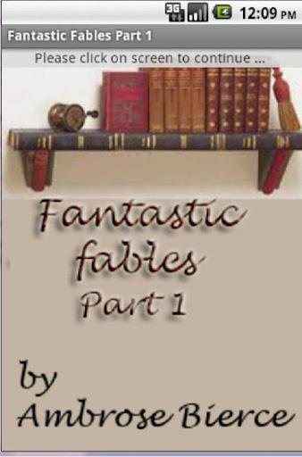 Fantastic Fables Part 1