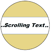 Scrolling Text Display