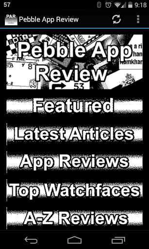 Pebble App Review